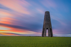 Daymark Tower (the milster) Tags: uk sunset england clouds nikon ruins ngc devon 1855mm paignton kingswear daymarktower d3100 nikond3100