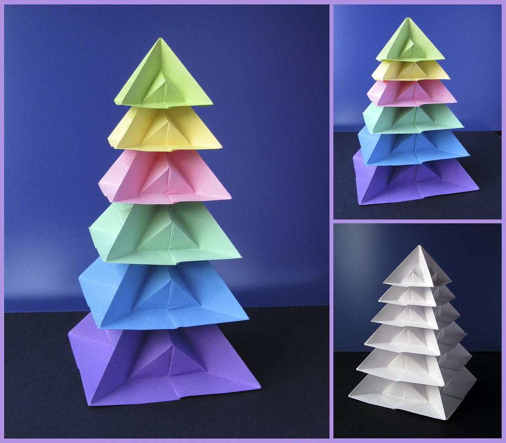 Tree pyramid shape