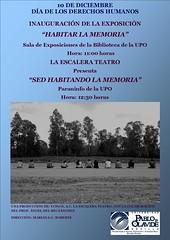 """"""" Habitar la Memoria"""" y """"Los Presos del Canal"""""""