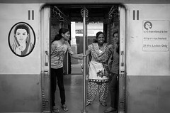 24 hours only (streetwrk.com) Tags: street travel people bw india monochrome train blackwhite streetphotography stranger trainstation monochrom streetogs streetwrk