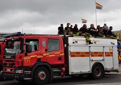 Les pompiers de Stockholm, Gay Pride 2011, Stockholm, Sude (byb64) Tags: switzerland europa europe sweden stockholm schweden eu lgbt firemen gaypride feuerwehr bomberos marche estocolmo suecia manifestation ue dfil pompiers sude lgtb vigiledelfuoco