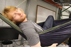 """Hammock in the lab • <a style=""""font-size:0.8em;"""" href=""""http://www.flickr.com/photos/27717602@N03/8250918981/"""" target=""""_blank"""">View on Flickr</a>"""
