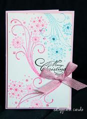 Neon snow-bursts (eatzycath) Tags: pink blue glitter cards neon sparkle pennyblack christmascheer christmas2012 abrighttomorrow