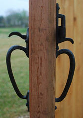 Coastal Bronze - Both Sides of Thumb Latch (Coastal Bronze) Tags: window cane bronze garden pull hardware bars doors exterior carriage cabinet gates antique decorative garage traditional barns band slide drop double grill ring stop coastal shutter oil thumb bolts non studs active latch levers hinges rubbed deadbolts pintles