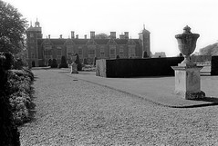 Blickling Hall (Blue Pelican) Tags: film pentax norfolk statelyhome nationaltrust countryhouse ilfordfp4 blicklinghall sp500 summerof76