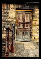 Doorway - Dean Clough Mills (Russ Dixon Photography) Tags: industry architecture doors yorkshire victorian x industrialrevolution portal halifax mills doorways calderdale textilemills deancloughmills dervishimages