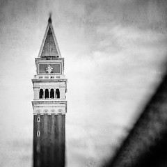 Campanile, Venice (MaggyMorrissey) Tags: venice italy texture lensbaby campanile