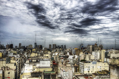 Dramatic Sky over B.A., HDR, Buenos Aires (german_long) Tags: sky argentina buenosaires skies hdr