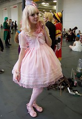 Hyper Japan 2016 3 (Terterian - A million+ views, thanks.) Tags: kensington london capital city uk olympia victorian exhibition centre venue hyper japan 2016 july japanese nippon nipponese culture pastel childlike innocent costume tradition festival art music martial pretty beautiful sexy lolita lollita girls female woman attractive happy smile alternative fashion fashionable models blonde pink lace