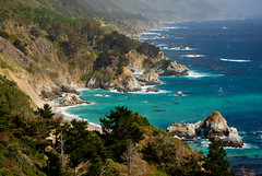 Big Sur Coast (Talo66) Tags: ocean california trees fog coast landscapes scenery rocks seascapes bigsur rocky scenics pacificcoasthighway