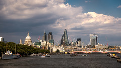 Sunny Skyline (James_Beard) Tags: city cityscapes skyline cityskyline london stpaulscathedral cheesegrater walkietalkie gherkin sonyrx100m3