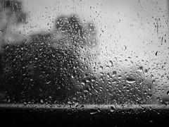 Ventana o Espejo (1 of 1) (mickeydilesphoto) Tags: rain window drops blanco y negro monocromtico textura blancoynegro