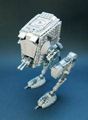 AT-ST v2.2, top view (GolPlaysWithLego) Tags: lego moc atst walker starwars