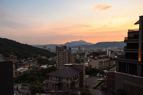 Sunset in Beitou