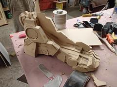 Boot Prototype Progress (thorssoli) Tags: schick hydro robotrazor razor sdcc comiccon sandiego conx entertainmentweekly costume suit prop replica hydrorescue schickhydro