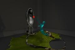 Reflect the Love by Rosie Dimanovic (ErikoLeo) Tags: art exhibition exposition flickrlovers secondlifesecondliferegionuwasecondlifeparceluniversityofwesternaustraliauwasecondlifex147secondlifey135secondlifez248