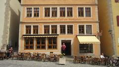 Caf am Marktplatz (Simone on Vacation) Tags: europe germany rothenburg