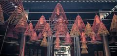 Temple Ceilings (GoldenGeek) Tags: hongkong incense temple asia d7200 nikon18140mm