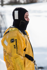 ice commander. lake katherine 2015 (timp37) Tags: lake katherine illinois palos heights winter february 2015 ice commander demonstration water rescue snow
