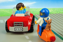 Hey, look at my car plate! (Lesgo LEGO Foto!) Tags: lego minifig minifigs minifigure minifigures collectible collectable legophotography omg toy toys legography fun love cute coolminifig collectibleminifigures collectableminifigurecars carproject project moc creation build