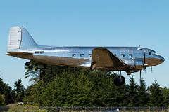 N18121 (sabian404) Tags: n18121 douglas dc3a dc3 cn 1997 blue skies air aurora state airport uao kuao thegreatsilverfleet