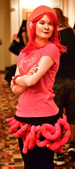 Izabel (sctag1015) Tags: dragoncon2016 dragoncon nikond7100 nikkor50mmf18g convention festival cosplay costume fun izzie izabele saga comic graphicnovel pink horror ghost disembowelment babysitter funkynose