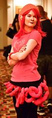 Izabel (sctag1015) Tags: dragoncon2016 dragoncon nikond7100 nikkor50mmf18g convention festival cosplay costume fun izzie izabele saga comic graphicnovel pink horror ghost disembowelment babysitter funkynose