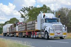Mack Superliner Triple Road Train (Bourney123) Tags: mack roadtrain qld queensland trucks trucking truck highway haulage brisbane darwin loaded diesel augathella morven
