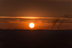 solar disk (NatKuzn) Tags: sunrise sunset sun disk color dawn sky red atmosphere glowing yellow line temperature horizon orange dusk weather beauty nature