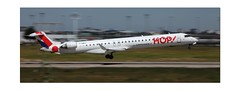 F-HMLE BOMBARDIER CRJ-1000  (LYS-ORY) (philippematon) Tags: hop orly fondfilé fondfiléavions