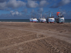 Nordjylland 2016 (hunbille) Tags: thorup thorupstrand torup strand fishing boats beach denmark boat nordjylland kutter fiskekutter northsea north sea vesterhavet four challengeyouwinner