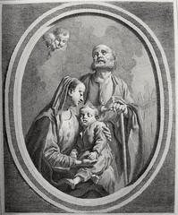 Phillip Medhurst presents Bowyer Bible Gospels print 3342 The Holy Family after Maratte (Phillip Medhurst) Tags: jesus christ jesuschrist bowyerbible phillipmedhurst maratte holyfamily maryandjoseph virginandchild