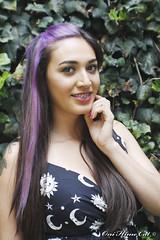 Crimea (Hopeful SG) ( Johanna Najera  oni hime cat ) Tags: crimea suicidegirls hopeful mexicansuicidegirls retrato portrait jardin luznatural haircolor