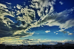 20160822_DP0Q5278 (NAMARA EXPRESS) Tags: landscape sky cloud blue weather deepsky deepblue evening summer fine outdoor color foveonclassicblue toyonaka osaka japan foveon sigma dp0 quattro wide ultrawide superwide namaraexp