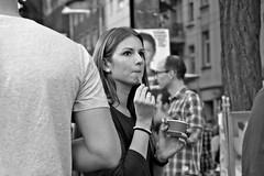genius & dream (O.Krger) Tags: niedersachsen germany deutschland hannover streetphotography sw schwarzweis socialdocumentary streetlife peopleinthecity people monochrom bw bianconero blackwhite urban