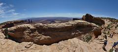 Mesa Arch,  Canyonlands Panorama (dieselgolfer) Tags: canyonlands mesaarch fz330panorama