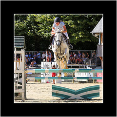 Hup! (Stuart Kingston Photography) Tags: equestrian horse haras canon show jumping rider sport fences obstacles competition chevaux action pompadour france