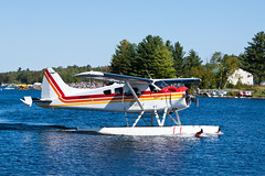 Private De Havilland Canada DHC-2 Beaver C-GRHF (jbp274) Tags: greenville greenvilleseaplaneflyin 52b flyin airplanes seaplane floatplane lake water mooseheadlake dehavillandcanada dhc2 beaver