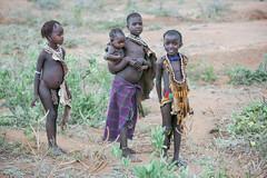 Nios de la tribu Hamer cerca de Turmi (Sur de Etiopa), 2010. (Luis Miguel Surez del Ro) Tags: nios turmi etiopa tribu hamer