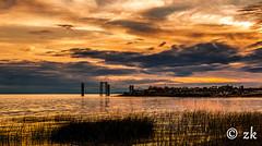 20160906DYZK ( ) Tags: sunset dusk sky clouds water beach ocean summer beautiful sea seascape landscape golden hour landscapes