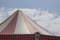{ e v e r y t i m e } (mirehoracio) Tags: circus merrygoround carousel minimalism clouds nuvole