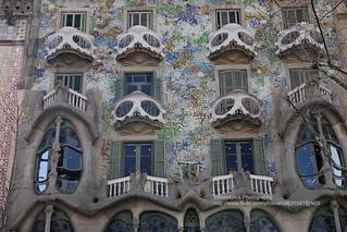 Barcelona, Casa Battló -  Explore