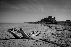 Bamburgh Castle (Hector Patrick) Tags: northumberland bamburgh bamburghcastle fujifilmx100t historicbuildings flickrelite twop castles beaches seashore