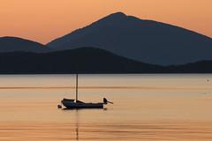 The Boat and the Islands (aksoykaan1) Tags: sunrise seaside sea seascape landscape island morning daybreak early canon70d tamron tamron70300 telephoto nd exposure canon 70300 boat