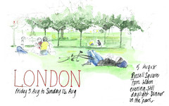 5Aug2016 London Russell Square (alissa duke) Tags: bloomsbury london russellsquare parks