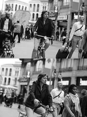 [La Mia Citt][Pedala] (Urca) Tags: milano italia 2016 bicicletta pedalare ciclista ritrattostradale portrait dittico bike bicycle nikondigitale mir biancoenero blackandwhite bn bw nn 89140