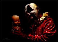 who can take the sunrise...? (derek raugh) Tags: dark crazy doll clown evil
