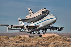 boeing 747-123 shuttle carrier aircraft (sca) (MatthewPHX) Tags: california nikon force space sca aircraft air flight center nasa edwardsafb research shuttle boeing airforce edwards base carrier hdr 747 airforcebase dryden endeavour edwardsairforcebase d90 drydenflightresearchcenter photomatix 747100 shuttlecarrieraircraft spaceshuttleendeavour ov105 747123 spottheshuttle nasasocial