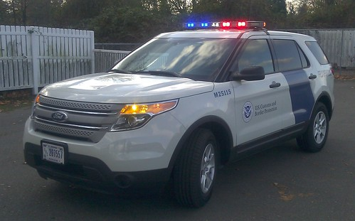 US Customs & Border Protection 2012 Ford Explorer - a photo