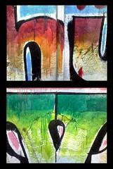More painting! (ix 2015) Tags: street urban signs color colour wall mxico mexico pared calle concert df letters concierto colores anuncio faded letter urbano calligraphy letrero multicolor letras signos dyptich caligrafa runoff adverstisement ciudaddemxico dptico deslavado israfel67 escurrimiento xochimico